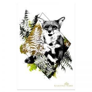 "HelvEdition Artwork by Ka L-O-K ""Vulpes Vulpes"""
